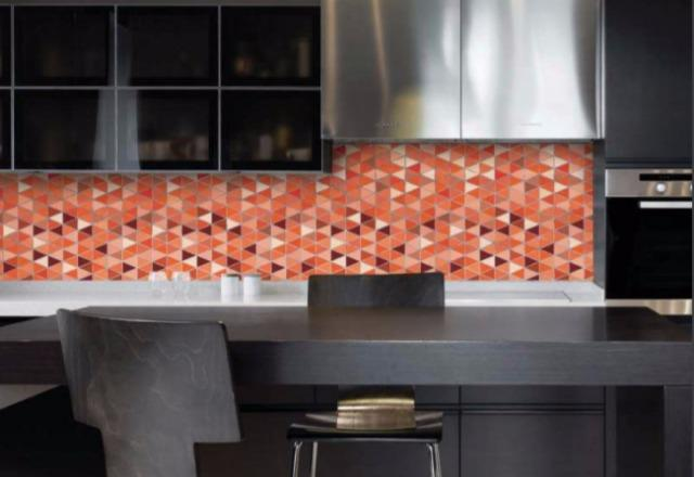 Feature Tile Splashback using DecoSplash