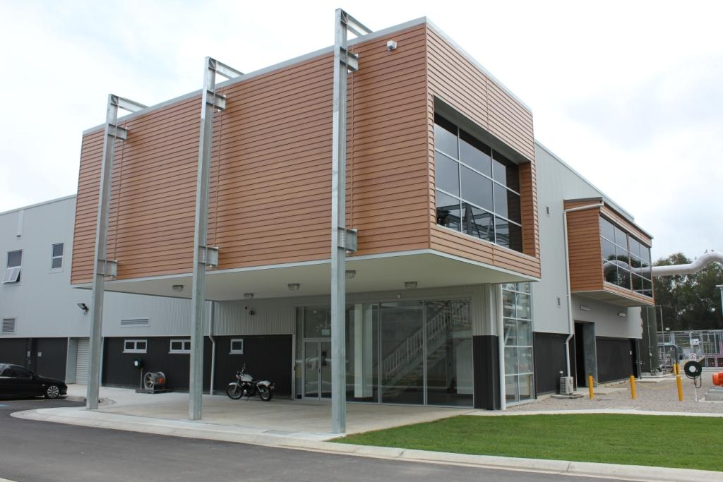 DecoClad used on commercial building in Sydney