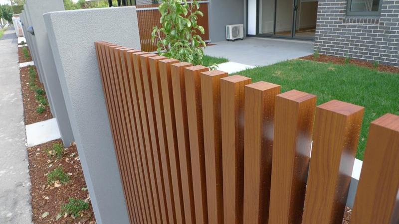 Decobatten Timber Look Aluminium Battens Building Products