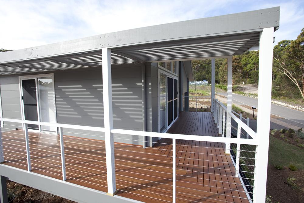 Decodeck Timber Look Aluminium Decking Bushfire Safe