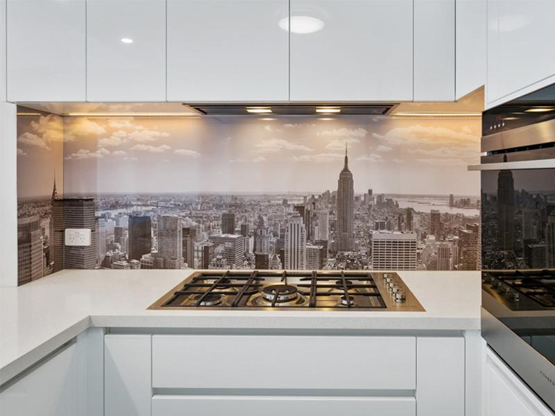 DecoSplash aluminium kitchens splashbacks
