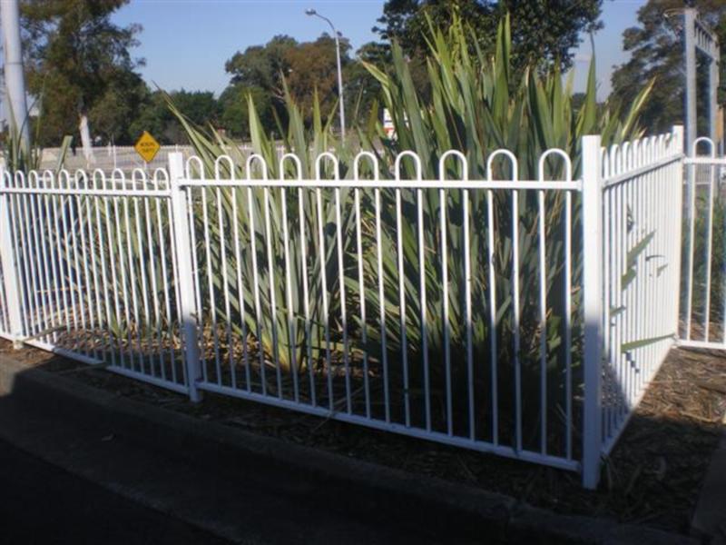 powder coated playsafe fencing